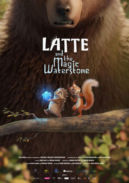 Latte And The Magic Waterstone 2020 Movie Poster