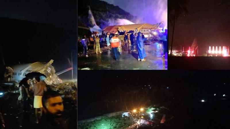 Air India Crash Dubai Kozhikode Flight Splits : एयर इंडिया का विमान रनवे से फिसला