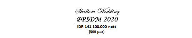paket pernikahan jakarta lengkap ppsdm murah dengan vendor berpengalaman