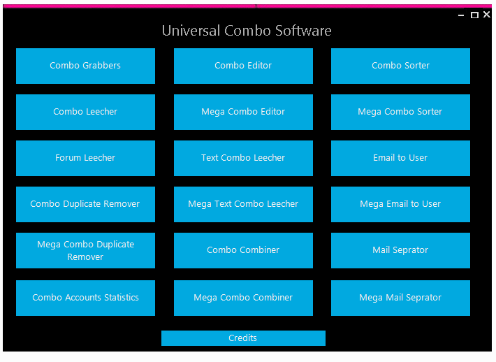 Universal Combo Software Beta V3