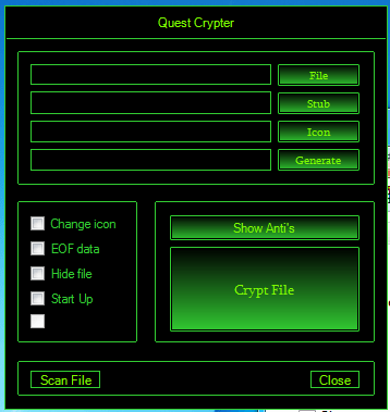 Quest Crypter