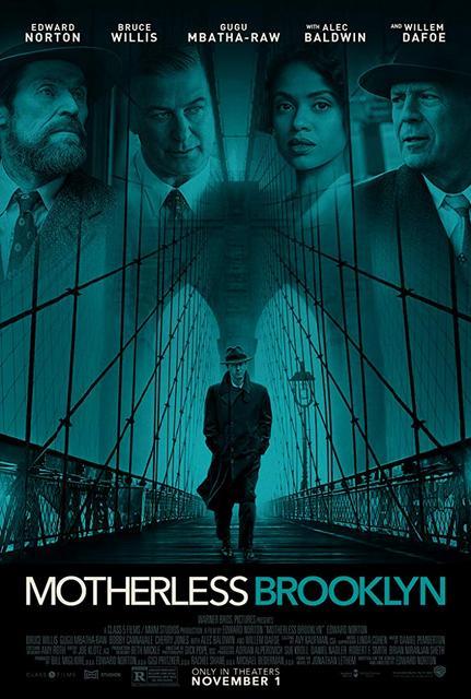 Motherless Brooklyn 2019 Movie Poster