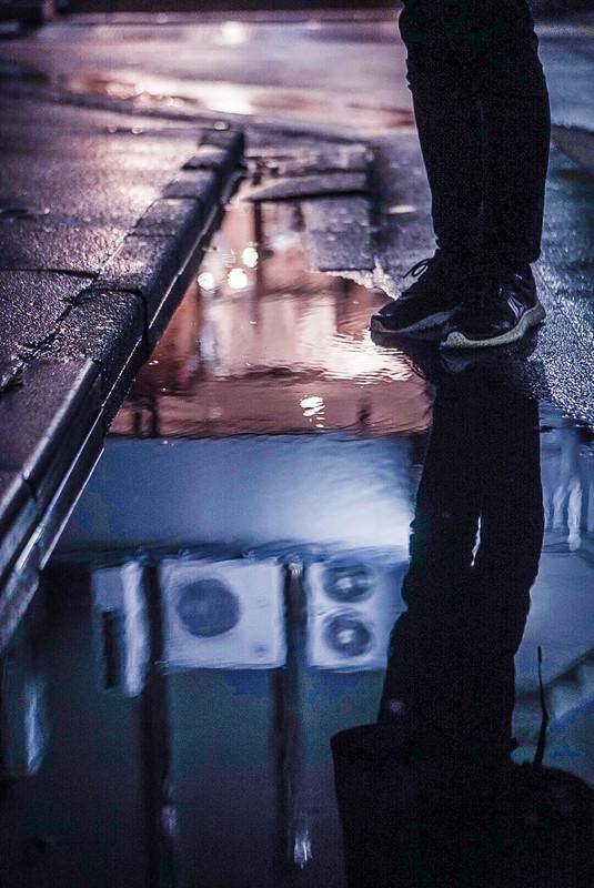 gambar low angle kasut