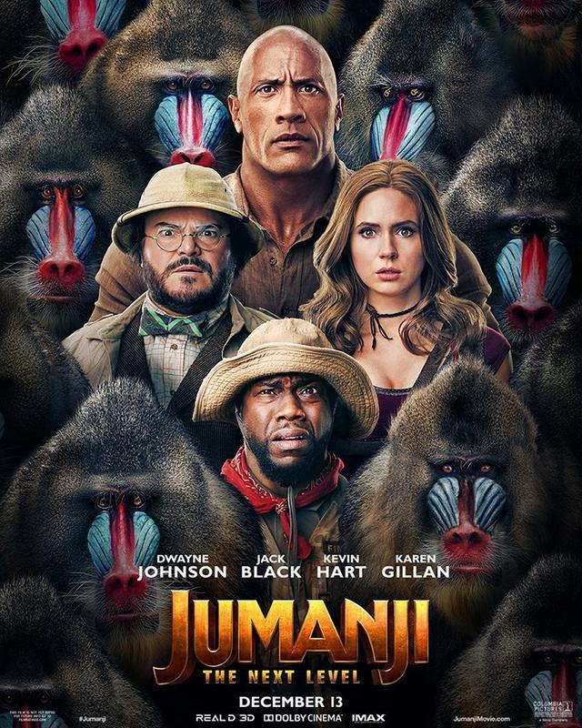Poster Jumanji The Next Level