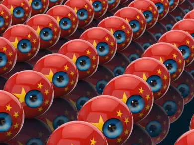 chinese surveillance, Img Src: Business Insider