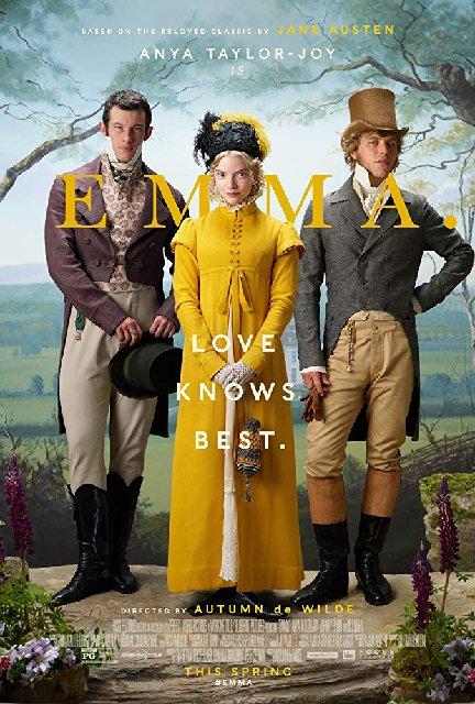 Emma 2020 Movie Poster