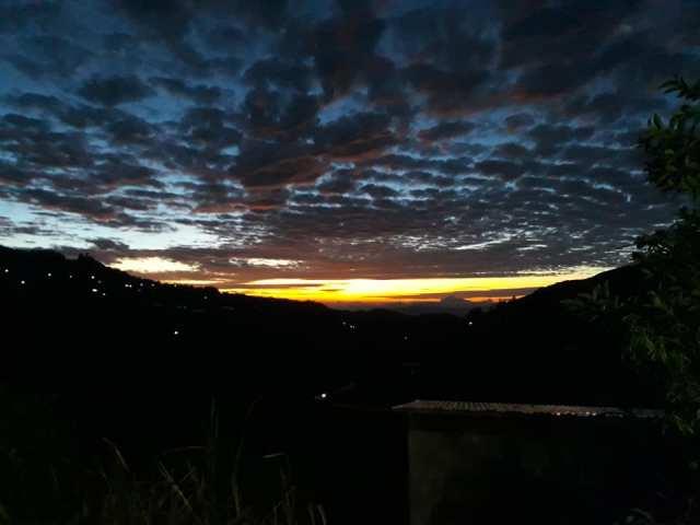 view sunrise di Gunung Kinabalu
