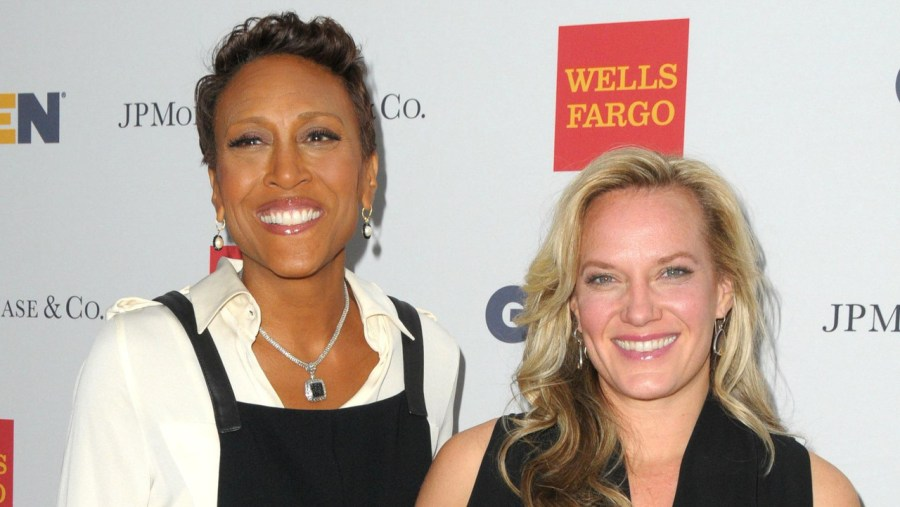Robin Roberts with her partner Amber Laign