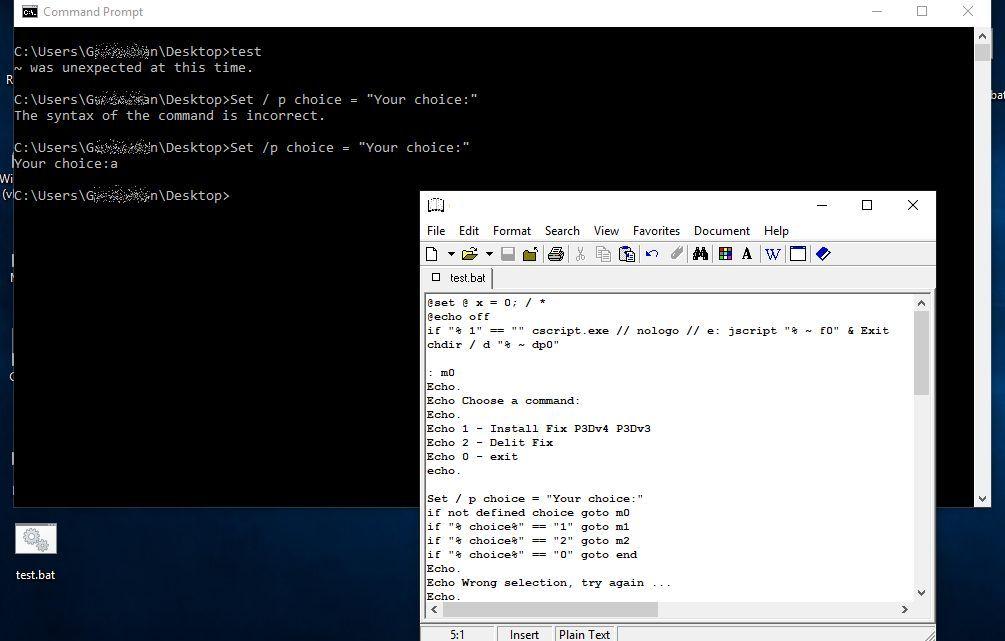 [SOLVED] - .bat File not running PLEASE HELP!!   Tom's Hardware Forum