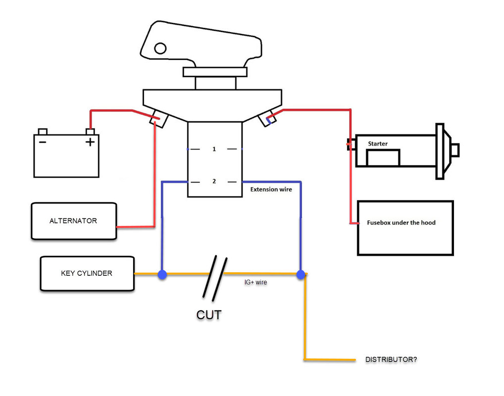 Alternator Wiring Diagram B+ D+ W / Diagram 1984 Airstream