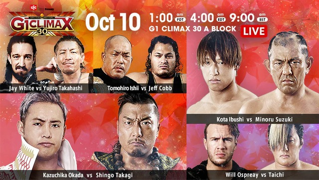 Day 13 G1 CLIMAX 30
