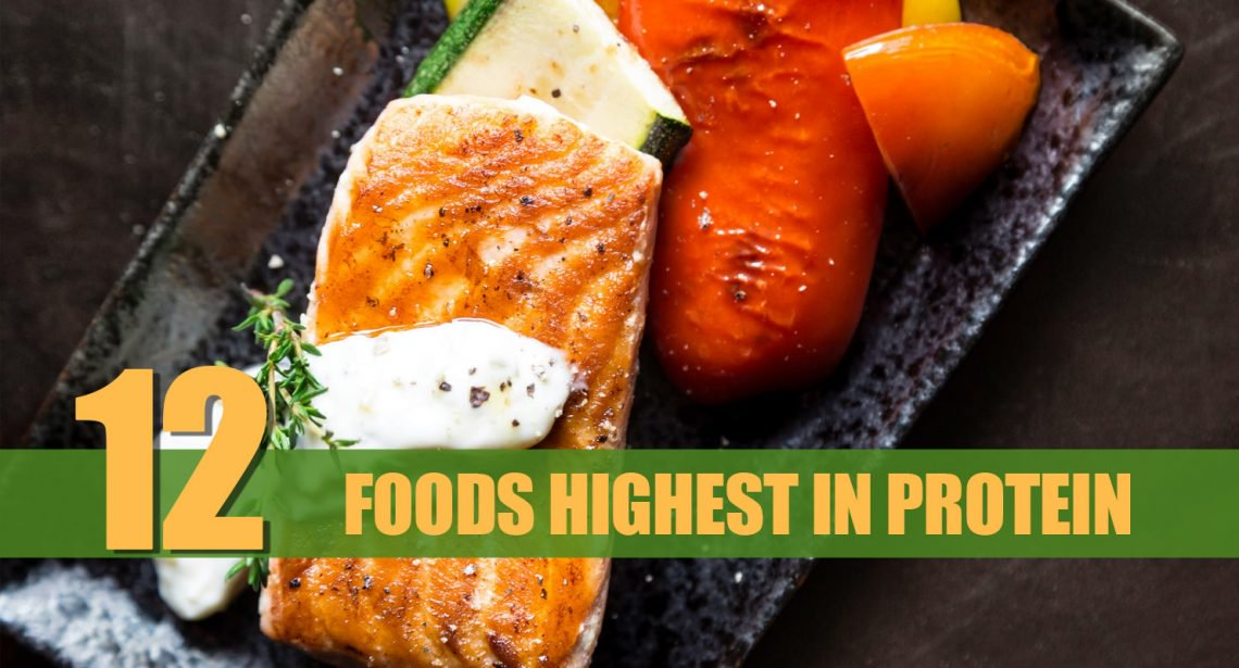 12 Meals That Accommodates Highest Quantity Of Protein
