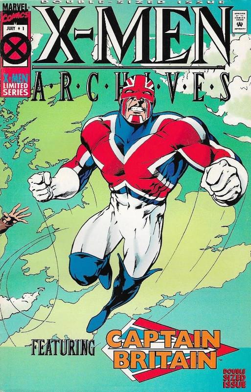 Archivos X Men: Capitan Britania (Alan Moore) Español