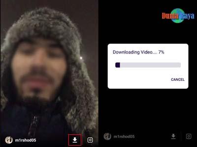 Download Video Live Instagram