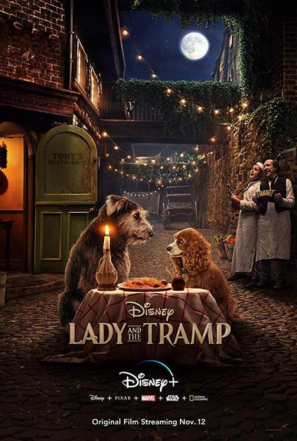 Lady and the Tramp 2019 Movie Poster