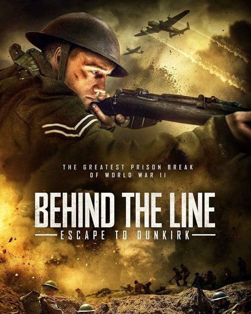 Behind The Line Escape To Dunkirk 2020 Movie Poster