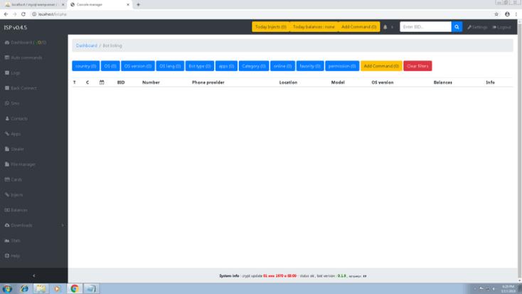 Asacube Android banking Botnet+Tutorial[