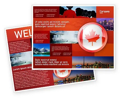 Canada Sign Brochure Template Design And Layout Download Now 03308