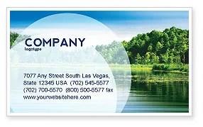 landscape business card template