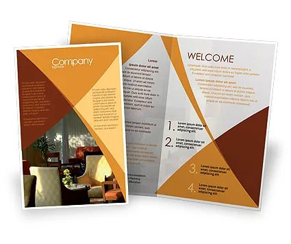 Hotel Restaurant Brochure Template Design And Layout