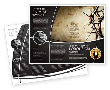 Christian Brochure Templates Ideal Vistalist Co