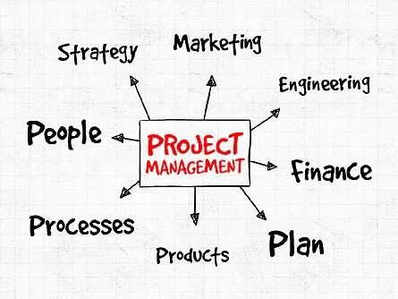 Project Management Presentation Concept for PowerPoint