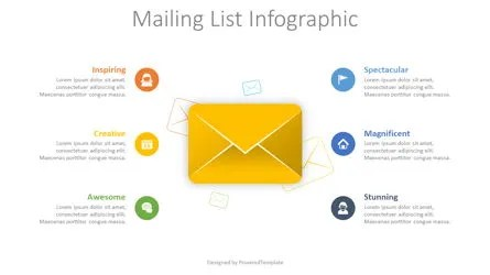 How to use an excel spreadsheet with mail merge in word to create mailing lists for labels, envelopes, and documents. Mailing List Infographic Free Presentation Template For Google Slides And Powerpoint 08590