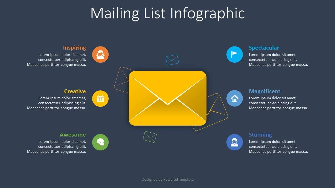 Use this mailing list sign up sheet when you are developing your next marketing mailing list. Mailing List Infographic Free Presentation Template For Google Slides And Powerpoint 08590