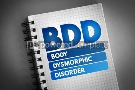 BDD - Body Dysmorphic Disorder acronym Foto 62574