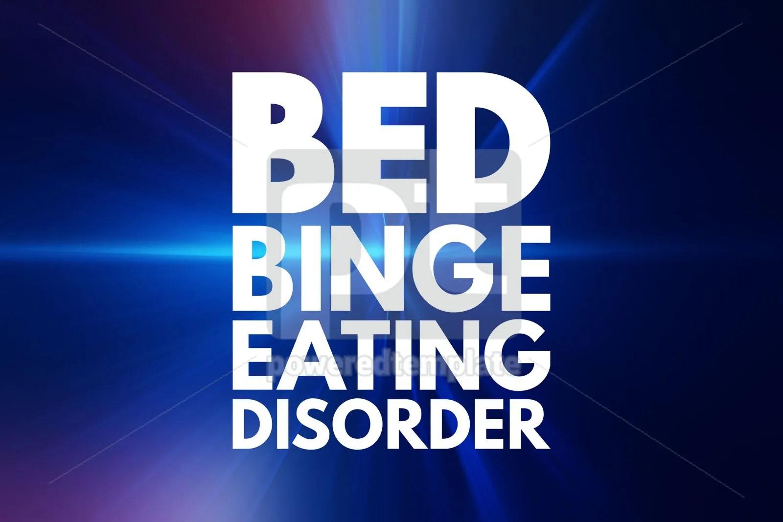 BED - Binge Eating Disorder acronym health concept background Foto 76149