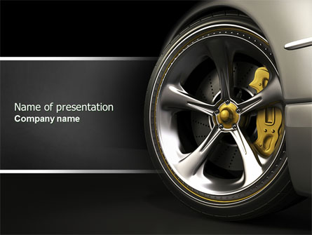 Car Black Car Wash Wallpaper Driving Wheel Presentation Template For Powerpoint And