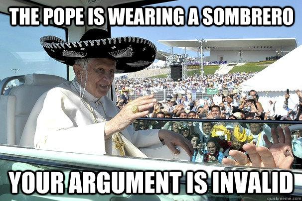 Pope Sombrero