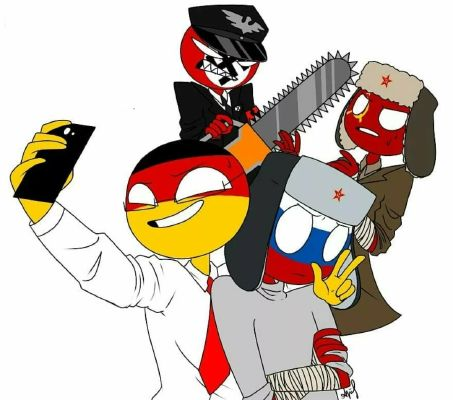 from another world countryhumans