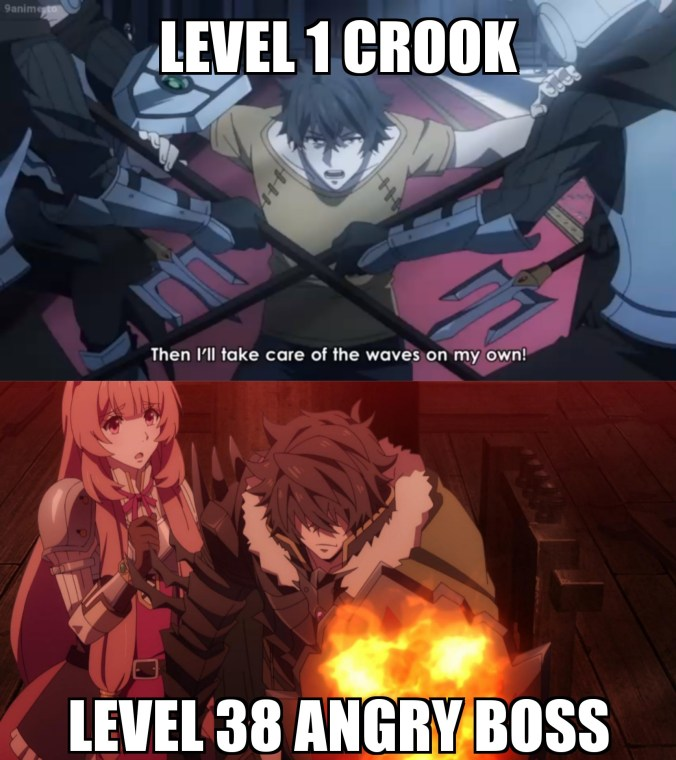 That how Shield Hero work