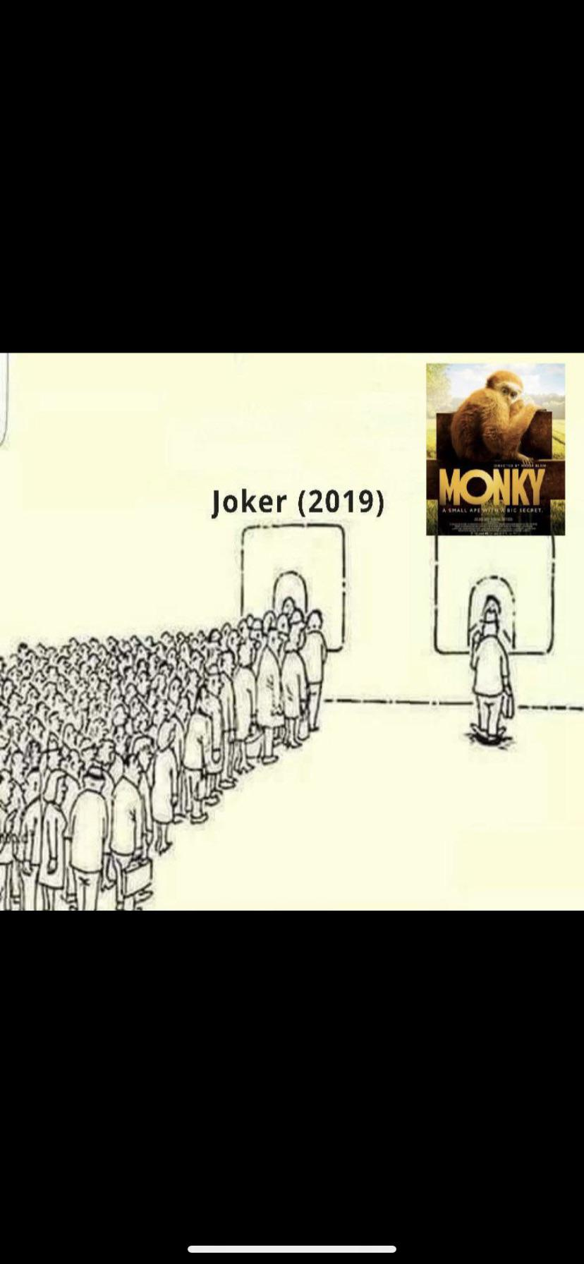 One ticket to monky please : ape