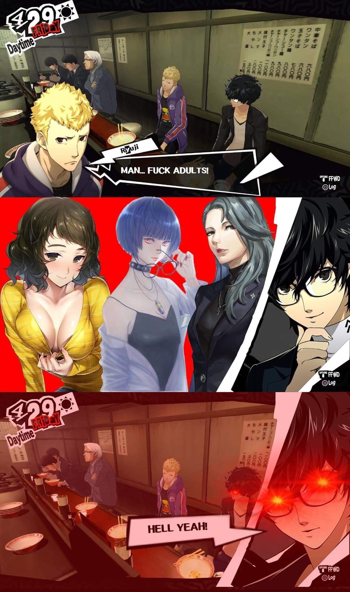 The Phantom Memes - Persona 5 Memes - Posts | Facebook