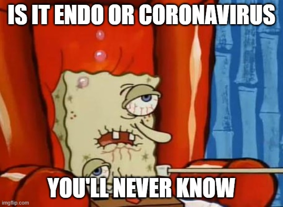 Anyone else get flu-like symptoms around period? This is me right ...