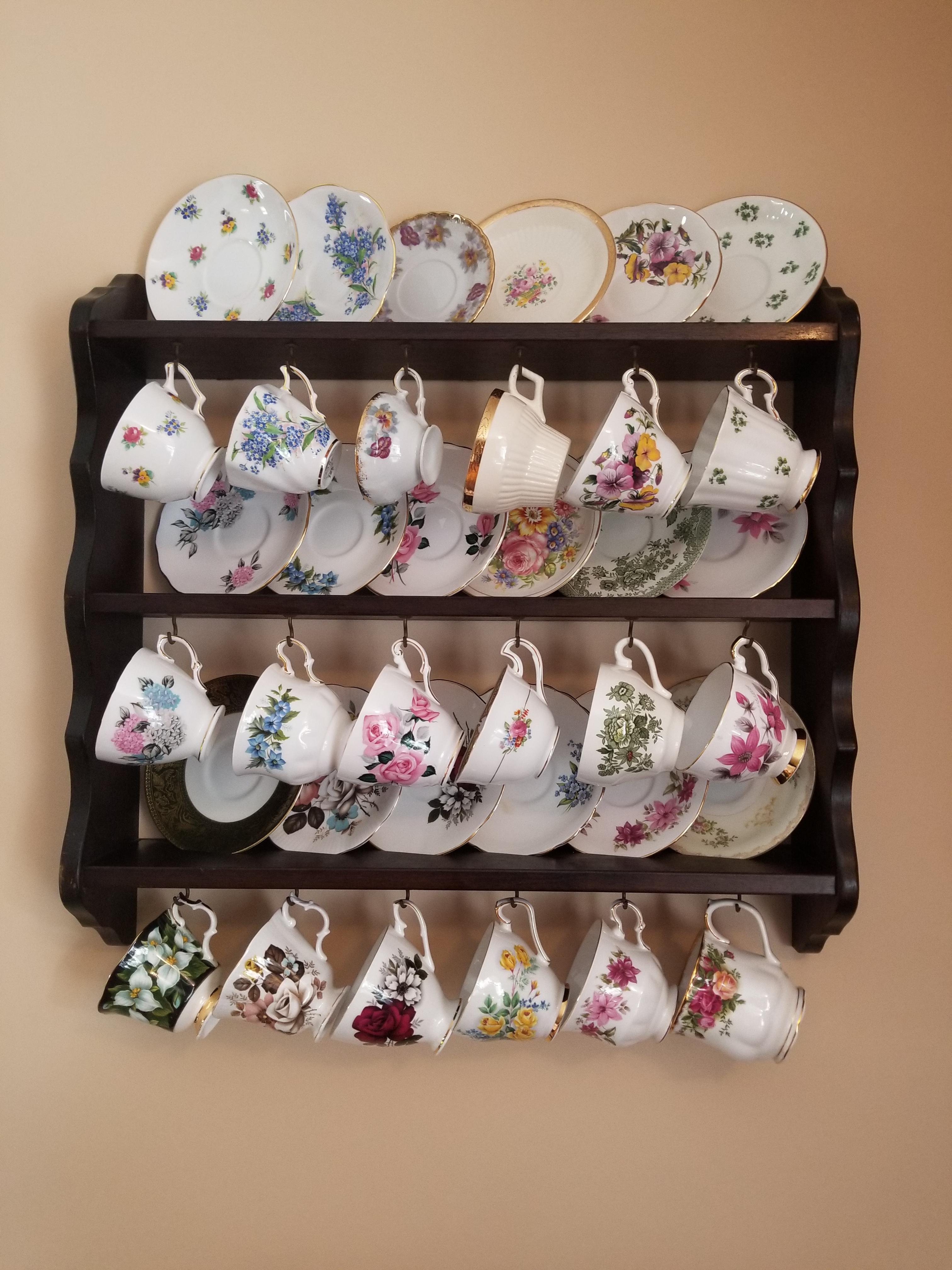 i found this tea cup display rack for
