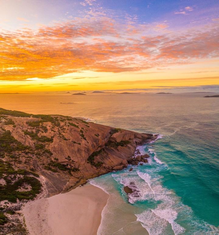 Sunrise at West Beach South Australia (Photo credit to Jaimen Hudson)