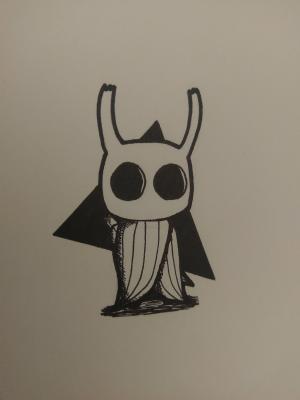 simple drawing oc redd hollowknight fan