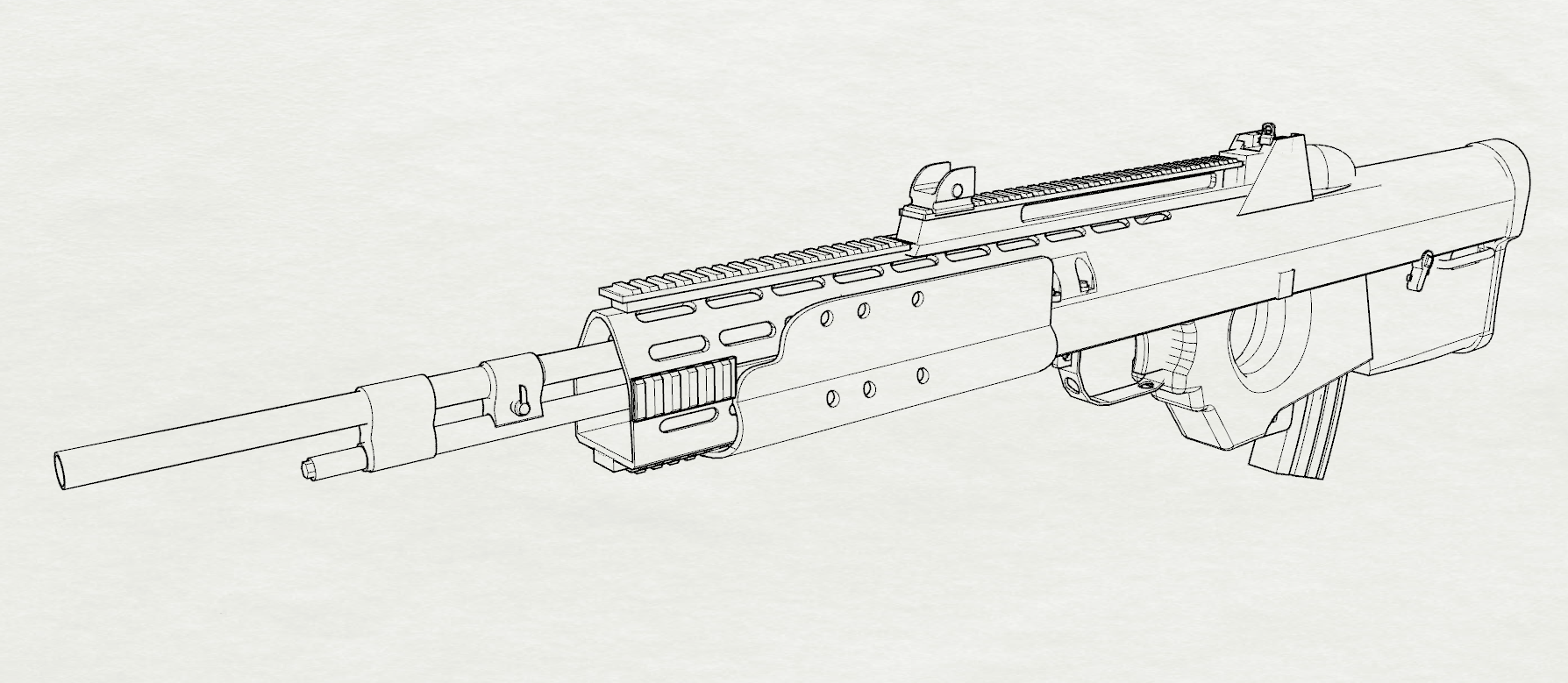 I have created the ULTIMATE weapon, the F2000-EBR! : H3VR