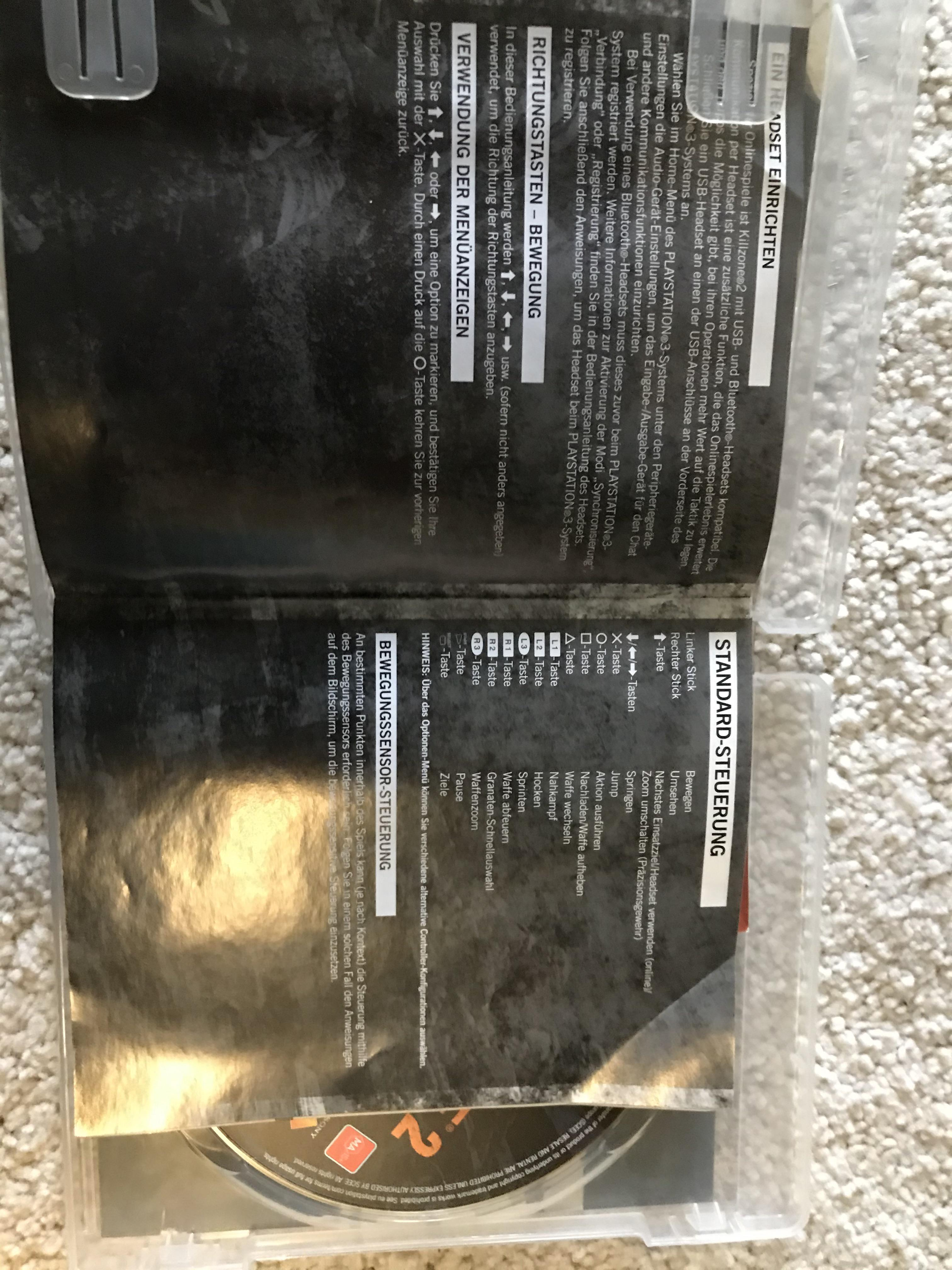 """Taktik Ps3 : taktik, Someone, """"shitty, Censored, German, Ones"""", Previously, Posted, Killzone, Writings, Booklet"""