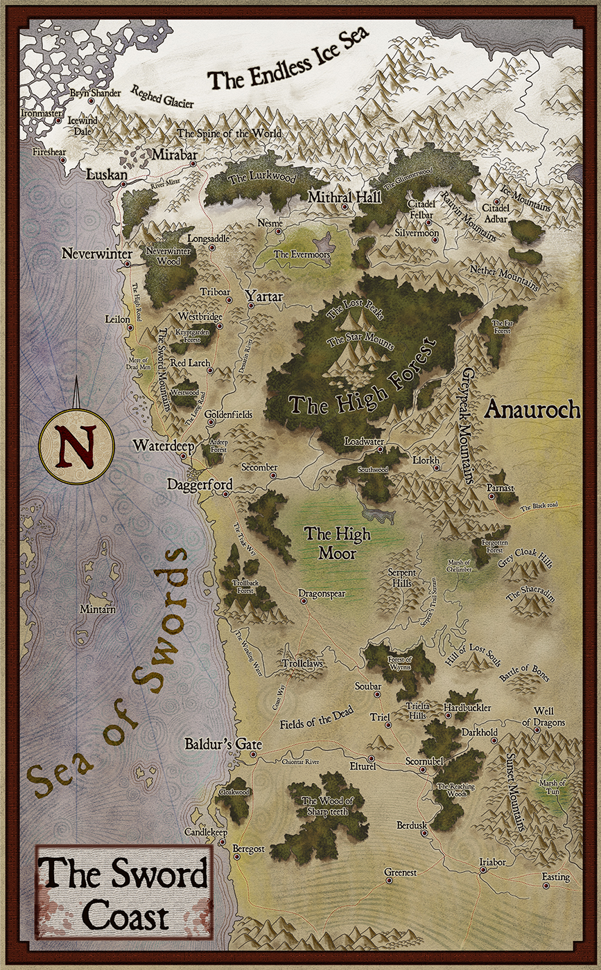Tyranny Of Dragons Maps : tyranny, dragons, Hoard, Dragon, Queen, World, Atlas