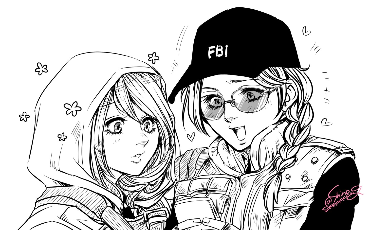 Hibana Jealous From Who Rainbow6