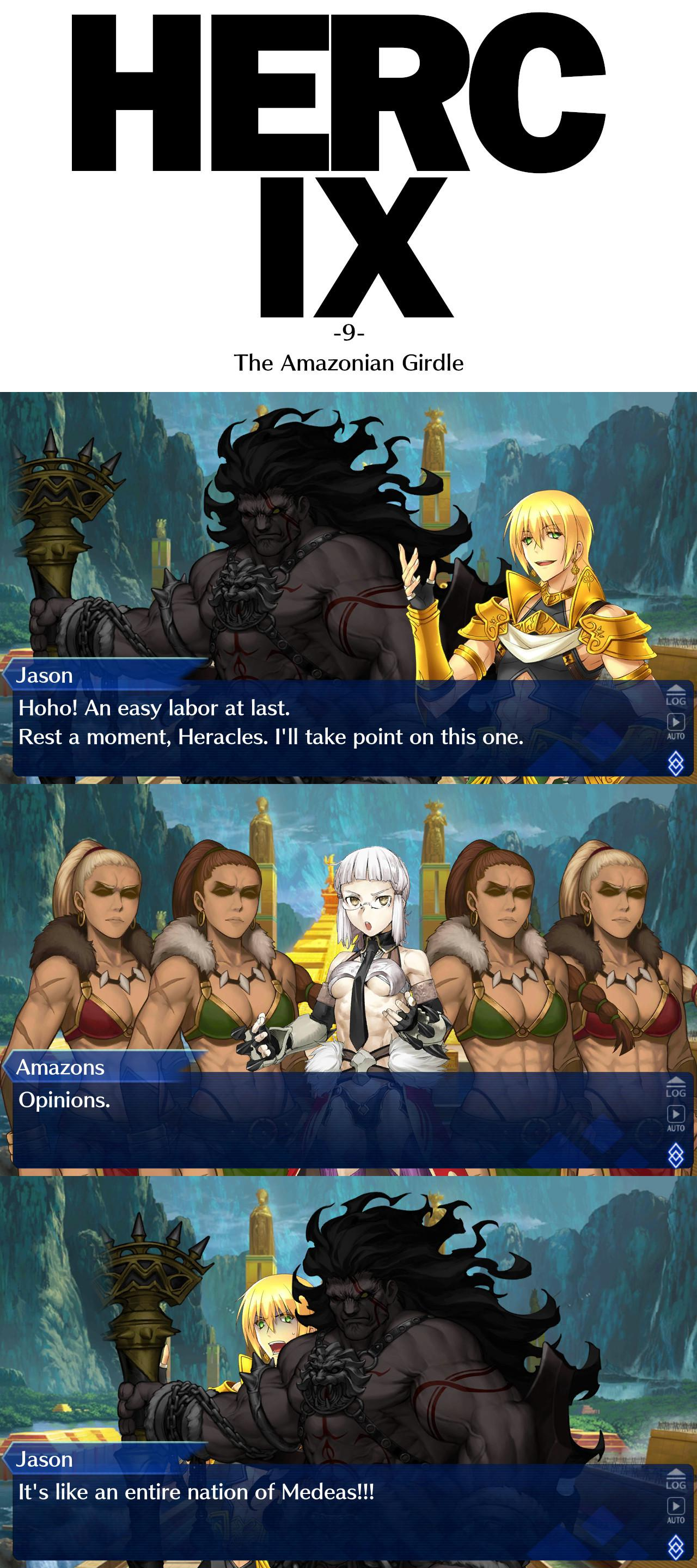Lb5 Prelude The New Twelve Labors Of Heracles Amazons 1