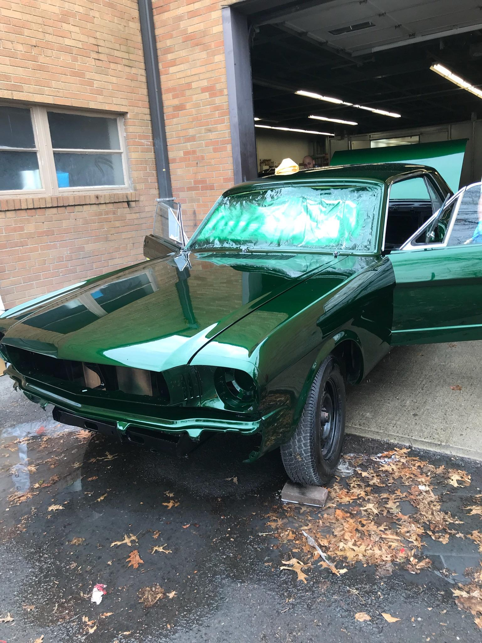 Mustang Paint Jobs : mustang, paint, Building, Mustang, Paint