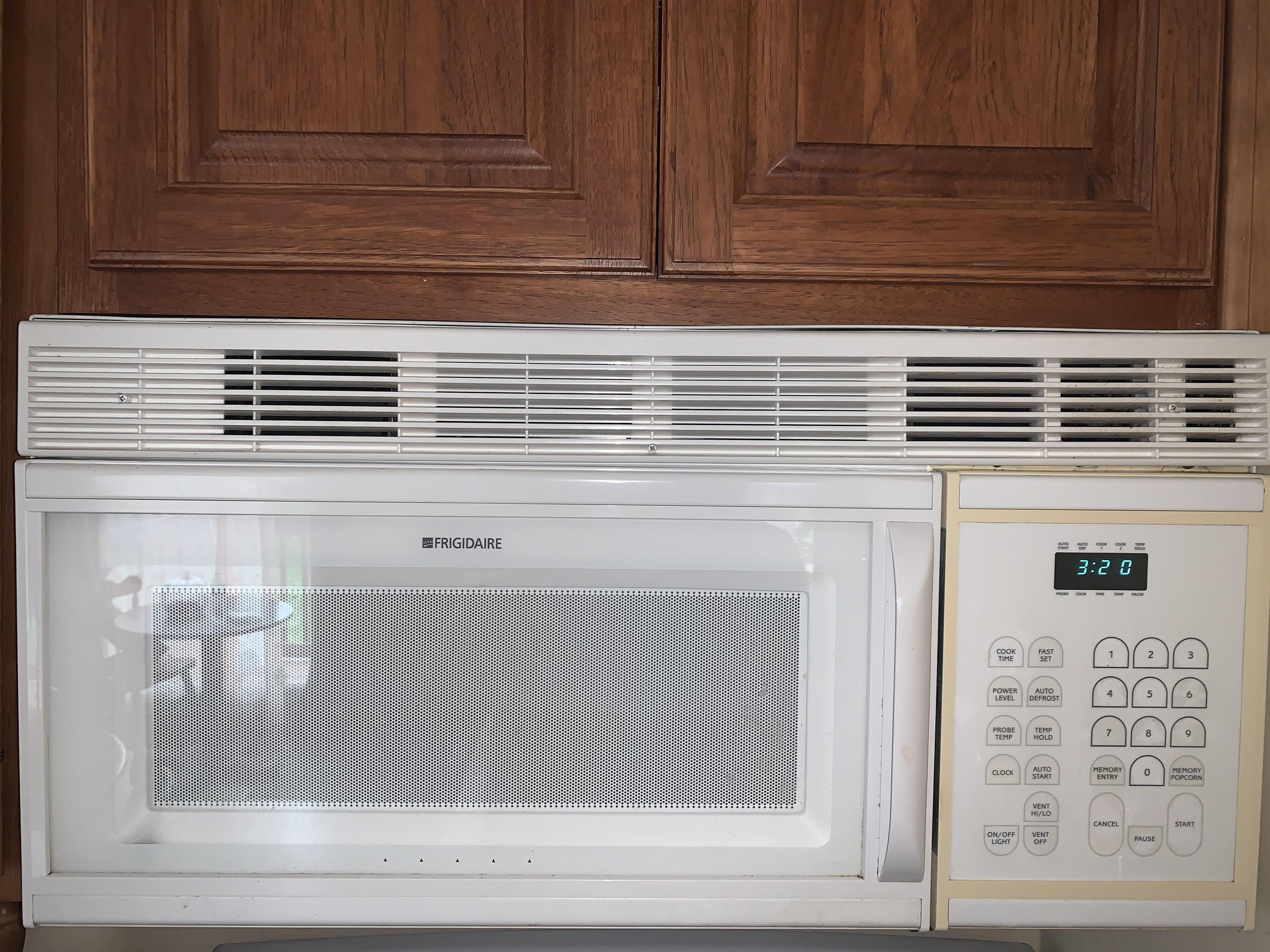 my frigidaire microwave manufactured