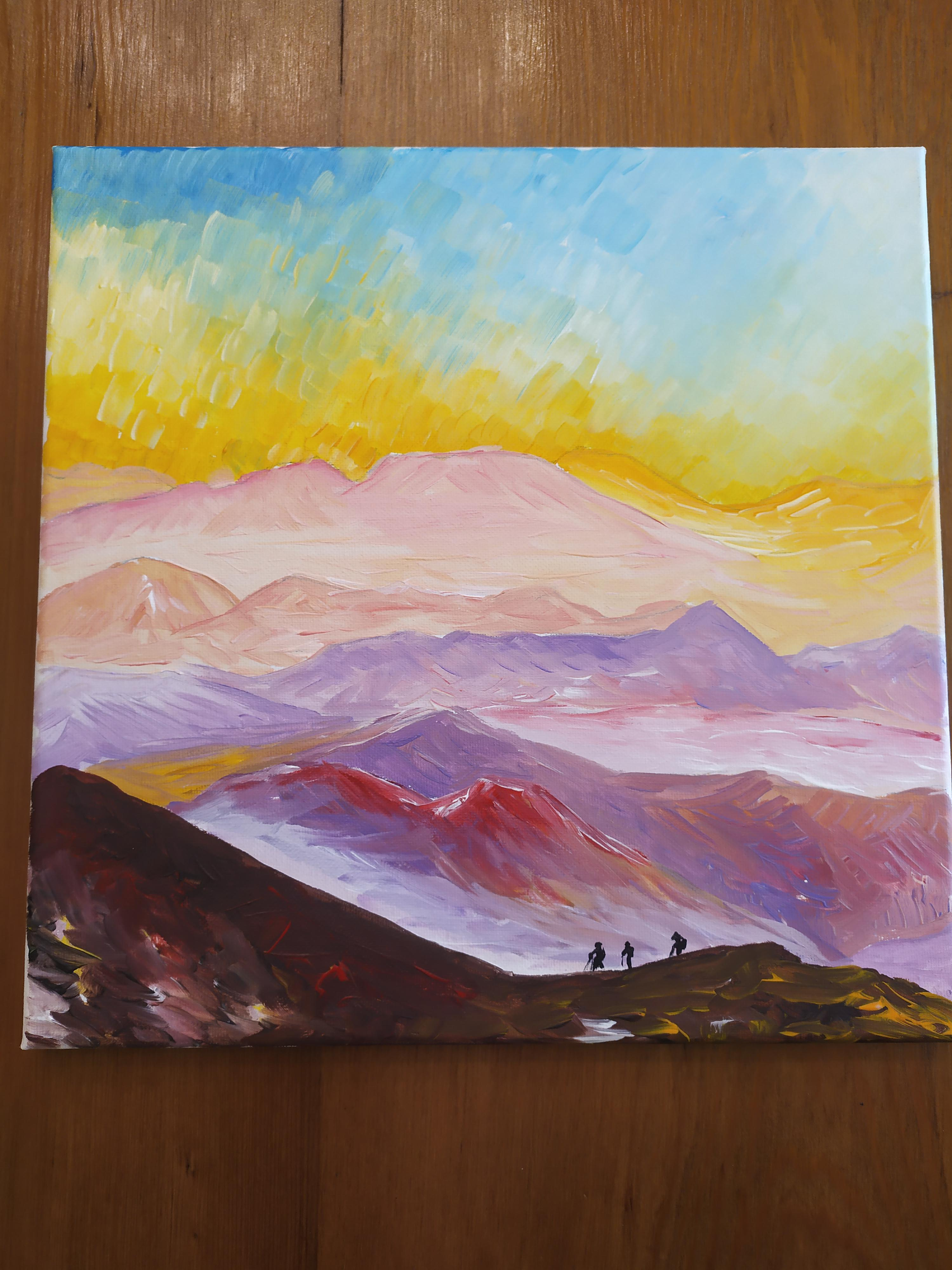 How To Paint Mountains With Acrylics : paint, mountains, acrylics, Paint, Mountain, Beginners, Acrylic, Painting, Explorer