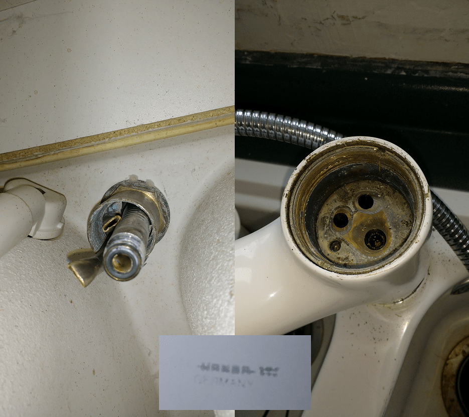 can t remove kitchen faucet it doesn t