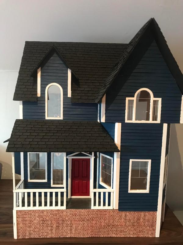 Newberg Dollhouse Exterior - Dollhouses